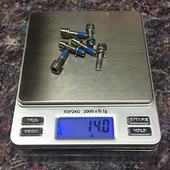 Deda titanium bolts (ManekiNico) Tags: dedaelementi titanium