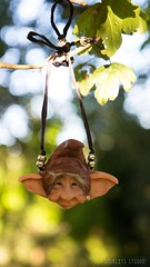 Troll Necklace (Shirleys Studio | Handmade Art Dolls) Tags: shirleysstudio shirleys studio beeldende kunst art artist grotto troll ooak dolls trollen trolletjes boswezens fantasy doll artdoll trol trolls figurine handmade