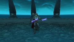 Sylvanas looking badass (aquahoof) Tags: worldofwarcraft dragonblightpverealm enyaria deathknight bloodelf aquahoof shaman tauren legacy raids dungeons