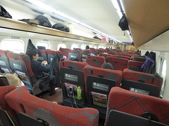 The Hakutaka (seikinsou) Tags: japan spring omiya kanazawa shinkansen jr railway train travel hakutaka windowseat interior seat