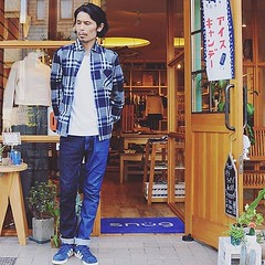 August 27, 2016 at 07:32PM (audience_jp) Tags: shop style  indigo shirt tokyo   sung casual  audience     japan  fashion