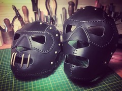 Yes we like creepy as well. #Cyberpunk #CyberGoth #postapocalyptic #postapocalypse #steampunk #steampunkmask #leathermask #handmade #LARP #dieselpunk #leather #Darkart #costume #larping (tovlade) Tags: face mask cyberpunk cyber goth make up goggles girl punk postapocalyptic postapocalypse black steampunk leather hand made larp cybergoth dieselpunk plague doctor