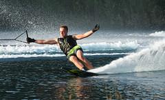 Poised to Turn (photo by marko) Tags: waterskiing waterskier waterski water swerve spray sport speed slalom skiing skiable ski reflection photobymarko nikon nikkor naturallight malibuboats malibu 70200vrii 70200f28vrii 70200f28 7020028 70200 70200f28vr 2016 d500 adrenaline waterskiphotography malibuboat robhazelwoodrobert hazelwoodlifeofawaterskierlessropemorebuoysmorebuoyslessropecarvediemthree sisters wigan skirobhaz