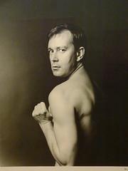 Joe Orton, 1965 (Snapshooter46) Tags: lewismorley 1965 photographer photograph monochrome joeorton playwright author nationalportraitgallery artgallery london