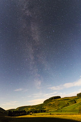 Milky Way (ca2cal) Tags: england northumberland barrowburn cheviot national park northumberlandnationalpark rural hill valley coquet cloud sky skyscape night star stargazing tripod longexposure milky way milkyway astrophotography website project366 panorama