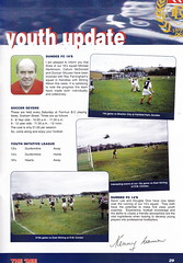 Dundee vs Rangers - 2000 - Page 29 (The Sky Strikers) Tags: dundee rangers scottish premier league spl bank of scotland dens park matchday magazine one pound fifty