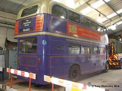 London Transport RM1101 Wirral Transport Museum (TonyW1960) Tags: wirraltransportmuseum birkenhead londontransport routemaster aec parkroyal