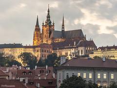 Katedrla sv. Vta, Vclava a Vojtcha (Kamil Prochzka) Tags: praha prague praga prag czech hradcany sunset