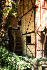 Exa 1C Old Mill Busch Gardens 1 () Tags: original busch gardens pasadena los angeles california history heritage theme park film tour mill waterwheel 1920s adolphus public private abandoned exa east germany ddr gdr slr m42 classic retro vintage 35mm camera