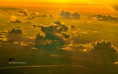 Borneo Skyscape (Suri Singh) Tags: borneo sky skyscape dusk sun clouds sunset sunrays indoensia altitude scenery redsky catchycolors