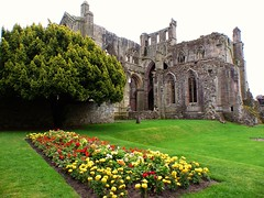 Melrose Abbey (Steffi-Helene) Tags: klster cloister ruinen ruins monastery grosbritannien england greatbritain travel tradition