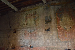 Paintings on the Wall (CoasterMadMatt) Tags: portchestercastle2016 portchestercastle portchester castle keep wallpaintings wall paintings castletheatre theatre interior inside ruin ruins medievalcastle fortress englishcastles castles history englishheritage heritage property hampshire hamps southeastengland england britain greatbritain gb unitedkingdom uk july2016 summer2016 july summer 2016 coastermadmattphotography coastermadmatt photos photography nikond3200