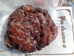 Apple Fritter at Gibson's Doughnuts, Memphis TN (Deep Fried Kudzu) Tags: apple fritter gibsons doughnuts memphis tennessee