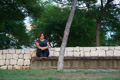 Alone (lucas2068) Tags: luz park parque cabecera valencia spain espaa portrait retrato bench banco
