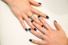 Nail Artistry (jasonclarkphotography) Tags: jasonclarkphotography nails makeup shellac canterburynz emount newzealand sony a6000 alpha blue blues fade fashion blended jewelery