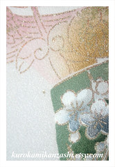 Autumn Princess (Kurokami) Tags: toronto ontario canada kimono japan japanese asia asian woman women girl girls lady ladies traditional kitsuke fabric antique vintage silk chirimen autumn princess panel panels piece pieces set craft crafting quilt quilting sew sewing kanzashi