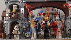 Troopers in King Arthur's court. (-JSP-) Tags: minifigures starwars phlug lego thetalltaleoftwolosttroopers