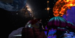 Bubblin' on through space (Allie Carpathia) Tags: outerspace cosmic friends summer secondlife