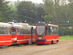 Konstal/Modertrans 105N-AC, #667, Tramwaje lskie (transport131) Tags: tram tramwaj bdzin t kzk gop konstalmodertrans 105nac zajezdnia depot