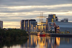 Tall ship at sunset (Photeelover) Tags: sunset sky sun reflection museum contrast river golden scotland clyde boat day cloudy glasgow sony transport tall tallship hdr hdprints photeelover worldinhd landscapesinhd wwwhdprintsphotosheltercom