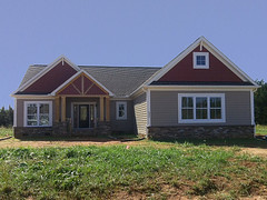 Custom Blue Ridge - under construction (Schumacher Homes) Tags: home architecture your modelhomes open kerryearnhardt custom home cool reneearnhardt designtrends lot on racing outdoor spaces living americas collection award winning plans schumacherhomes nascar nascar custom builder largest value earnhardt earnhardt