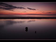 """In the morning..... (Elidor.) Tags: sea sky cloud colour sunrise dawn northumberland groynes berwickupontweed spittal barrygibb"