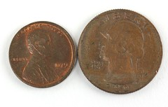 1001. Two (2) U.S. Error Coins