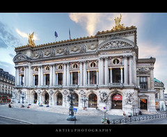 The Paris Opera (Palais Garnier), France :: HDR (:: Artie | Photography ::) Tags: paris france classic architecture photoshop canon design opera europe theatre wideangle structure handheld classical sculptures ef 1740mm hdr 1669 f40 artie palaisgarnier cs3 parisopera 3xp photomatix operanationaldeparis tonemapping tonemap 5dmarkii 5dm2