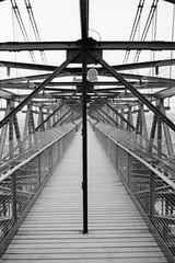 (Mr.Groka (Gorka Valencia)) Tags: blackandwhite bw españa byn blancoynegro film analog bn negative bizkaia negativo canon300v vizcaya analógico paísvasco puentecolgante getxo lasarenas película puentecolgantedebizkaia puentecolgantedeportugalete puentecolgantedevizcaya lomographybw400
