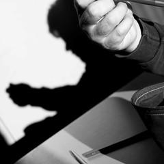 ombra (TIMPICE) Tags: shadow portrait bw nikon ombra mani natura mattia ritratto bosco ragazzo d90 betulle zanet