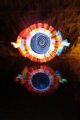 Wet cully (- Hob -) Tags: longexposure lightpainting reflection underground spiral led 4656 culvert cathode airraidshelter sooc 光绘 光の絵画 wwwfacebookcompageslightpaintingorguk517424921642831 何後処理ん 无后处理