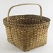 270. Antique Wood Handled Basket