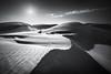 Lancelin Lines and Light (Luke Austin) Tags: blackandwhite westernaustralia sanddunes sunstar lukeaustin lanceline