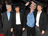 Charlie Watts, Keith Richards, Ronnie Wood and Mick Jagger of the Rolling Stones 56th BFI London Film Festival: 'Rolling Stones - Crossfire Hurricanes', gala screening held at the Odeon Leicester Square - Arrivals. London, England