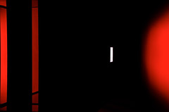 opportunity (baxsyl) Tags: light red abstract black paris france colors vertical night dark rouge noir interior space interieur minimal lumiere nuit emptiness espace 2012 verticale vide abstrait parisbynight darkbackground urbanlights museduquaibranly bestminimalshot lumieresnocturnes urbandetailspool baxsyl