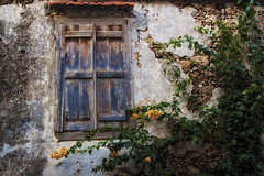 Closed window (Theophilos) Tags: old flower window wall town closed crete rethymno
