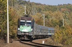 2012.10.22 | 470 503 | Herend (Davee91) Tags: colors forest train canon rail franz rails passenger curve taurus railways bakony liszt ferenc herend gysev es64u2