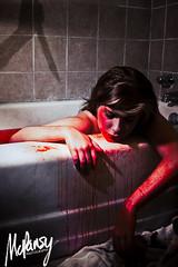 Blood Bath (Katie McPansy) Tags: portrait halloween self dead bathroom blood bath psycho killer horror murder 2012