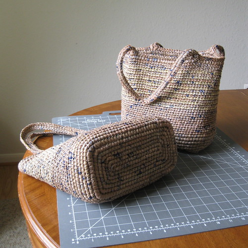 Plarn Bags, two of eight