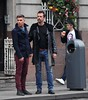 E4's Hollyoaks cast seen shooting scenes in Dublin