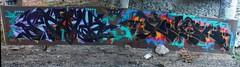 Stalk X River (stateofoppression) Tags: wall river graffiti tag cities twin stalker piece mn stalk logik tci riv illest minnesotagraffiti mngraffiti