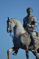 King George I Statue (bodythongs) Tags: school horse house public statue bronze george nikon october king body nt buckinghamshire national thongs trust stowe rider bucks equestrian plinth 2012 i georgius d5100 bodythongs