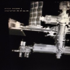 #ISS as it appears from #Dragon #SpaceX