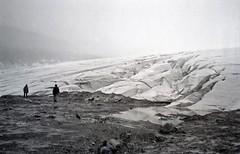 columbia ice field glacier (Mr.  Mark) Tags: winter snow film ice fog landscape rockies photo stock glacier alberta columbiaicefield markboucher