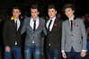 Jamie Hamblett, Josh Cuthbert, Jaymi Hensley and George Shelley of Union J Cosmopolitan Ultimate Women Of The Year Awards