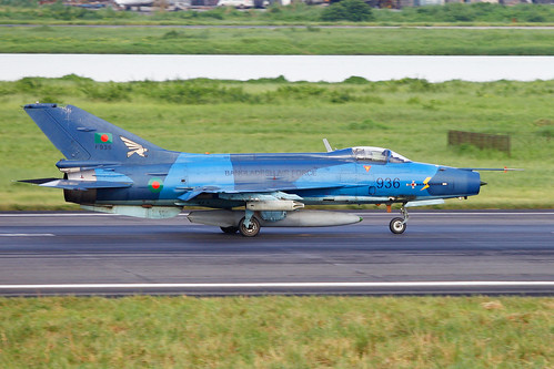 936 F 7 Air Guard Bangladesh Force Running For Take Off