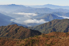 _JGS  Ohdosan from this landscape 4 (withcamera) Tags: morning autumn winter summer snow nature rain fog clouds forest season dawn spring nikon seoul southkorea thewind wildflowerstrees thesunrise