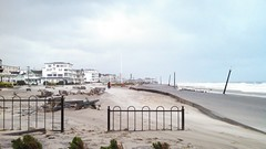The Morning After Sandy (markchevy) Tags: ocean morning storm beach architecture sunrise buildings landscape pier early photo newjersey interesting fishing pix graphic nj picture scene architectural atlantic damage vista boardwalk pictorial oceangrove hurricanesandy markchevy johnspilatro
