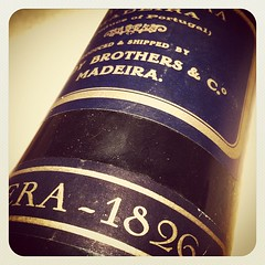 "Blandy's Bual Solera 1826 - one of the stars at my upcoming premium Madeira tasting! #madeira #madaboutmadeira #wine #portugal #heaven • <a style=""font-size:0.8em;"" href=""http://www.flickr.com/photos/85787433@N08/8145694425/"" target=""_blank"">View on Flickr</a>"