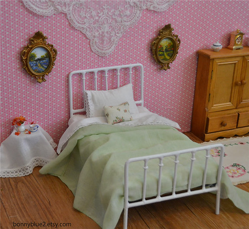 Doll Bed Playscale Blythe Bed Barbie